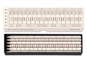 Olivetti Lettera Pattern Series pencil set