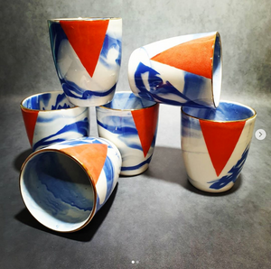 Heather Lowes ceramic coffee cups SOLD INDIVIDUALLY