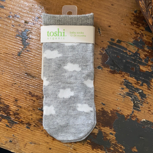 Toshi organic cotton socks VIEW FULL COLLECTION HERE