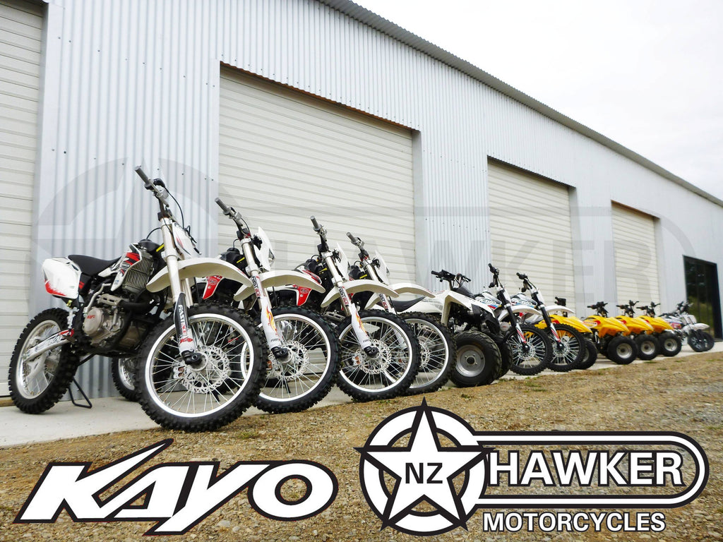 Hawker Supplies Ltd NZ - Kayo / Hawker Motorcycles - Dirtbikes and ATVs