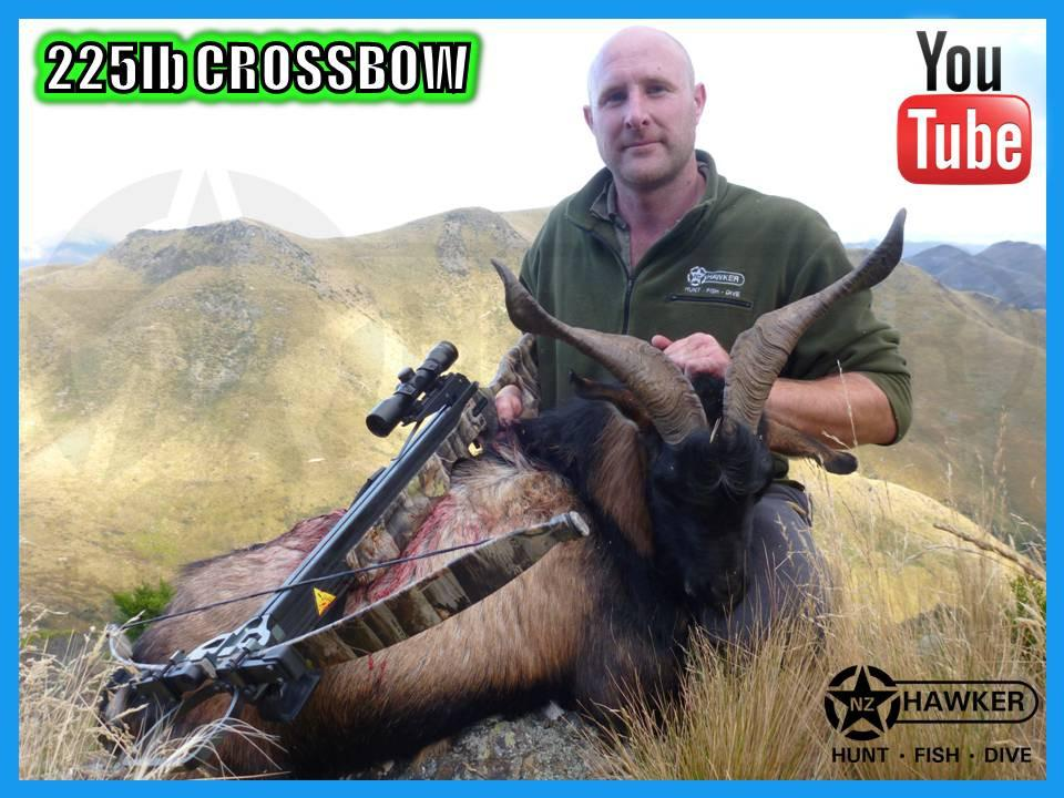 Hawker Supplies Ltd NZ - 225LB CROSSBOW KIT 330FPS + QUIVER