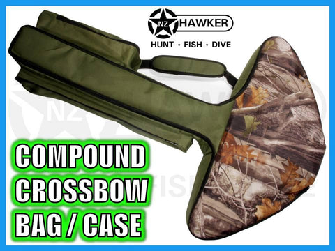 CROSSBOW CASE/BAG CAMO! FITS COMPOUND CROSSBOWS 01