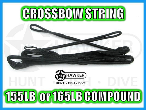 CROSSBOW STRING 155LB or 165LB COMPOUND - FACTORY REPLACEMENT