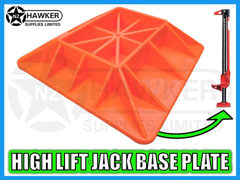 4x4 LARGE BASE PLATE FOR HIGH LIFT JACKS - NEW #01