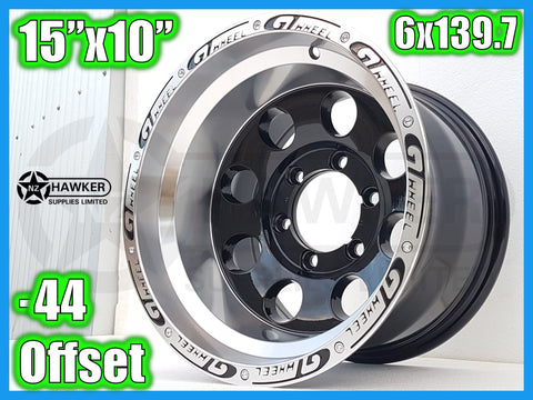 15x10 Neg44 ALLOYS 6x139.7 GTWHEEL - Set of 4 #11