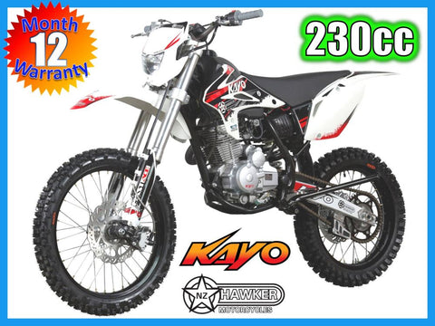 Brand New  -  Kayo 230cc T4 Enduro / Trail Dirt Bike