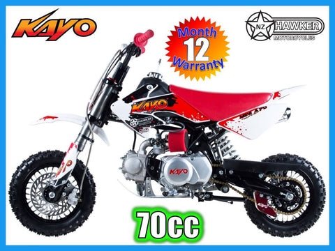 Brand New - Kayo 70cc Dirt Bike Mini A Runner