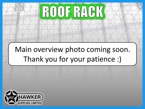 ROOF RACK TENT TRAY 220cm x 125cm ALLOY suit Toyota Land Cruiser 100 Series #46