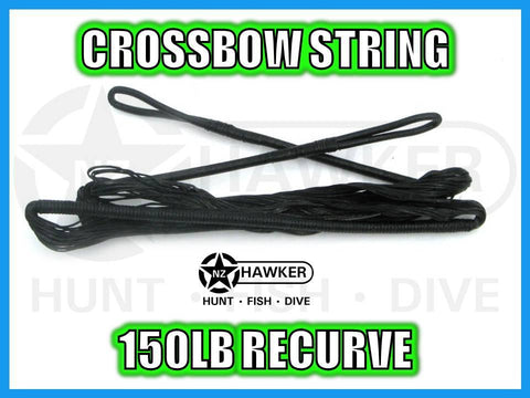 CROSSBOW STRING 150LB RECURVE - FACTORY REPLACEMENT