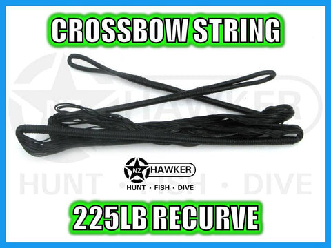 CROSSBOW STRING 225LB RECURVE - FACTORY REPLACEMENT
