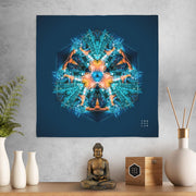 Gold Coast Warrior Mandala Mini Tapestry
