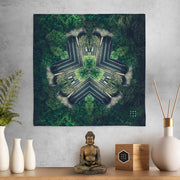 Spirited Forest Mandala Mini Tapestry