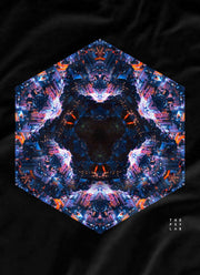 Neo-Futurity Mandala Long T-Shirt