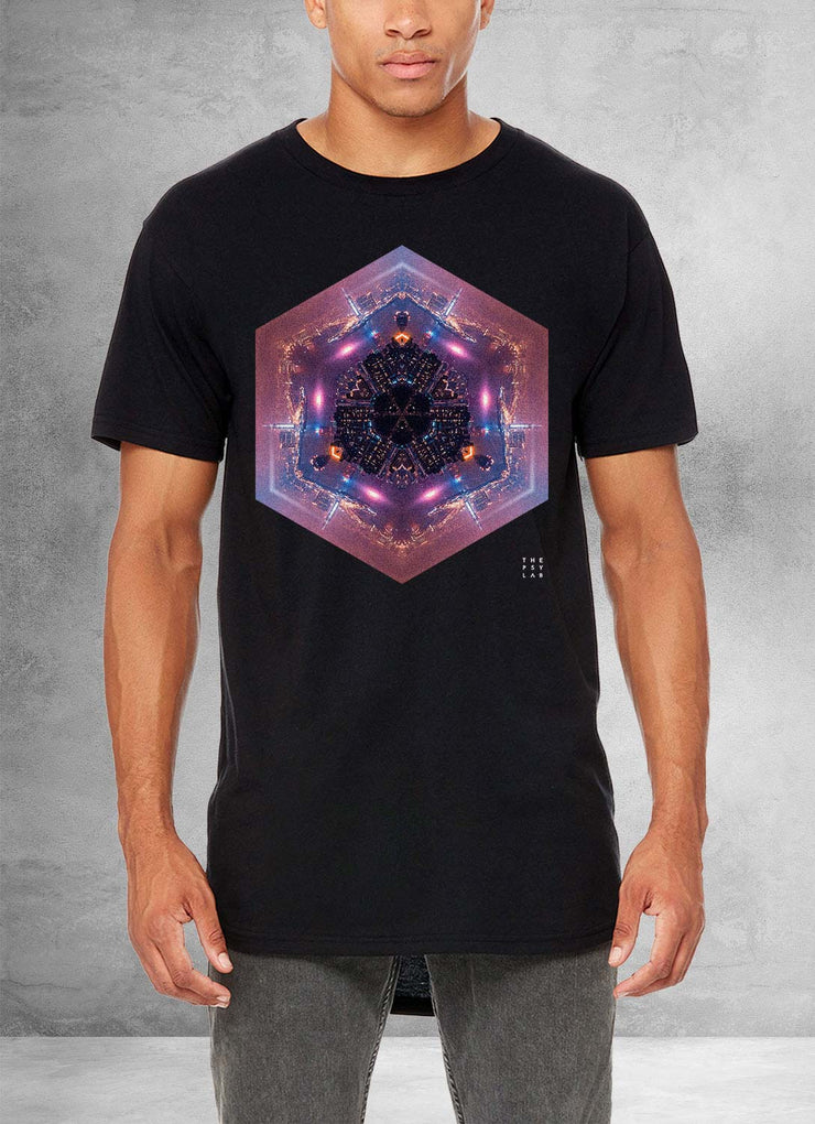 Re-Birth Mandala Long T-Shirt