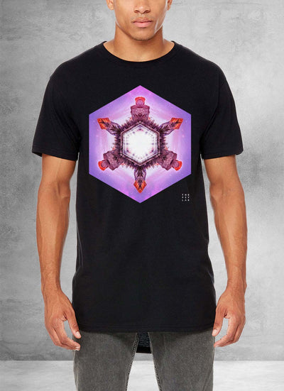 Sacred Yosemite Mandala Long T-Shirt