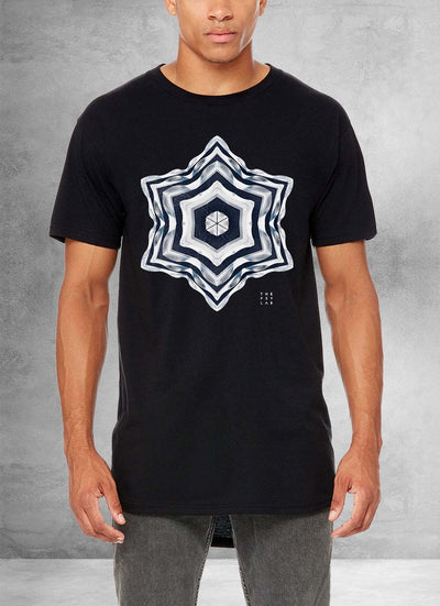 Airport Loop Mandala Long T-Shirt