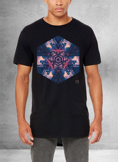 Chicago Star Mandala Long T-Shirt
