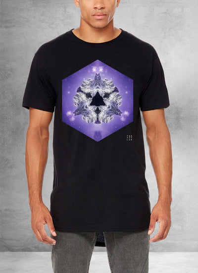 Purple Blaze Long T-Shirt