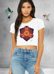 Silex Mountain Mandala Crop Top
