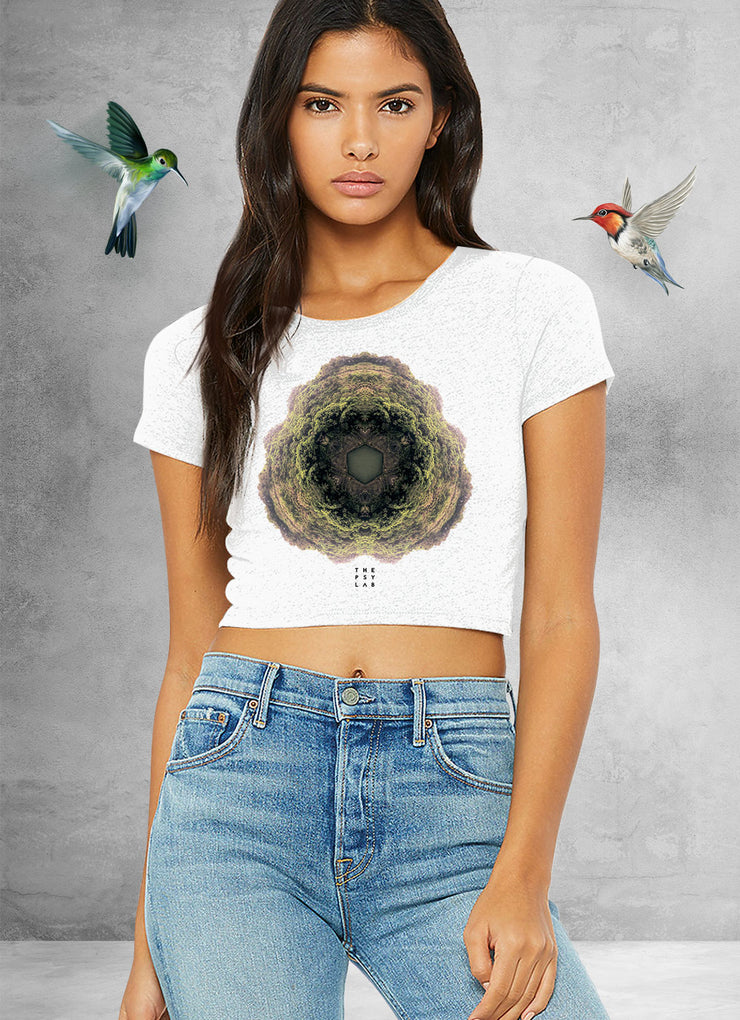 Arena Water Shine Mandala Crop Top