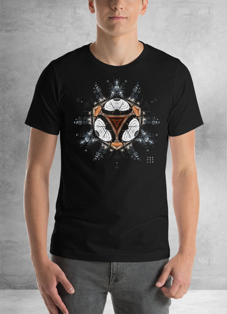 Dark Knight City Mandala Unisex T-Shirt