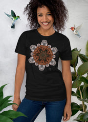 Rock Flake Mandala Unisex T-Shirt