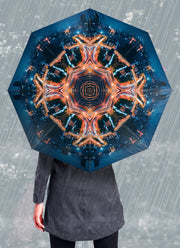 City Lights Mandala Umbrella