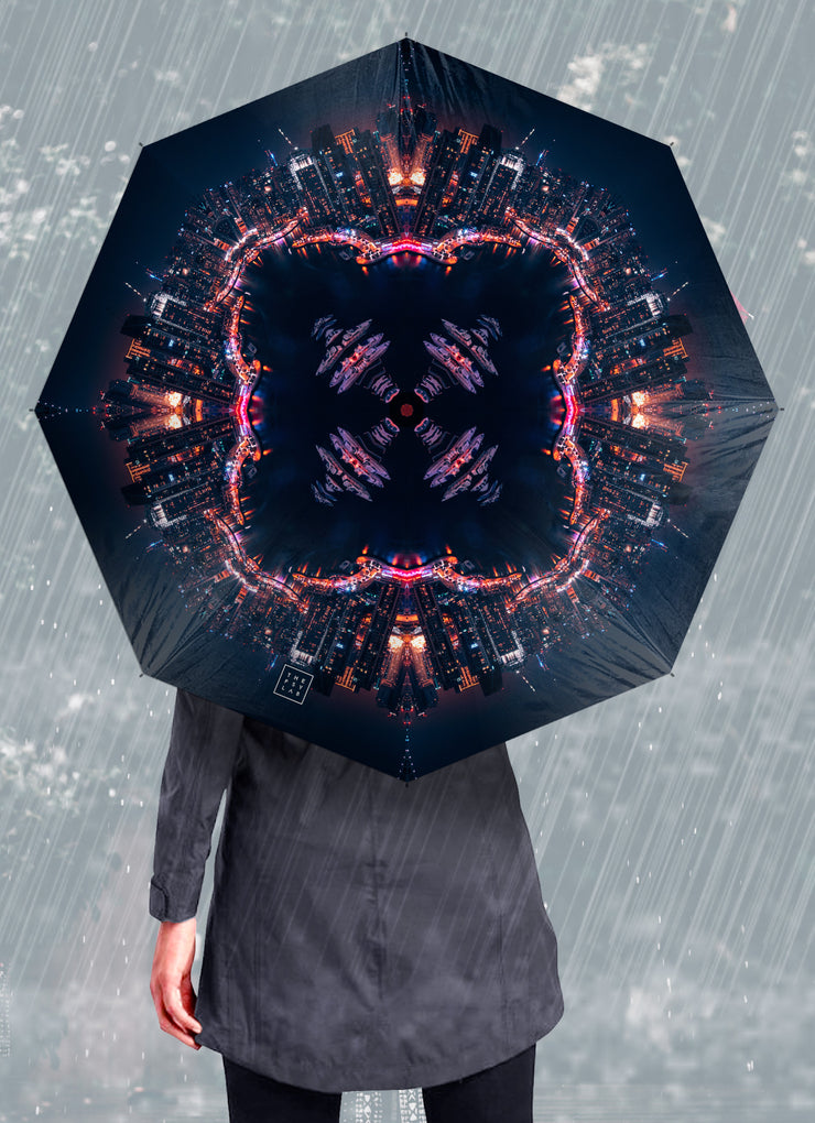 Cyber Dock Mandala Umbrella