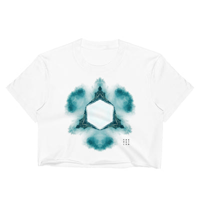 Rorschach Forest Mandala Crop Top