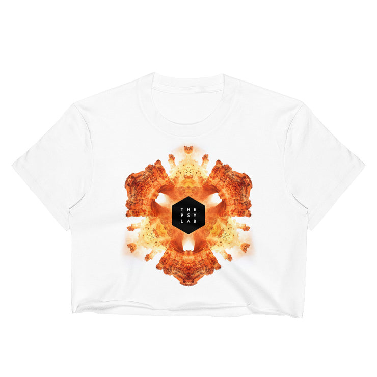 Red Canyon Mandala Crop Top