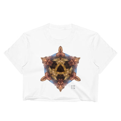 Stone Age Mandala Crop Top