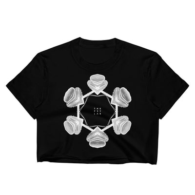 The Portal Mandala Crop Top