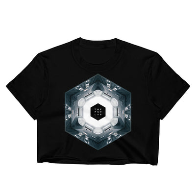 Airport Loop Mandala Crop Top