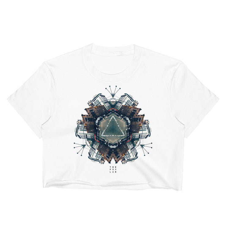 Urban Trinity Mandala Crop Top