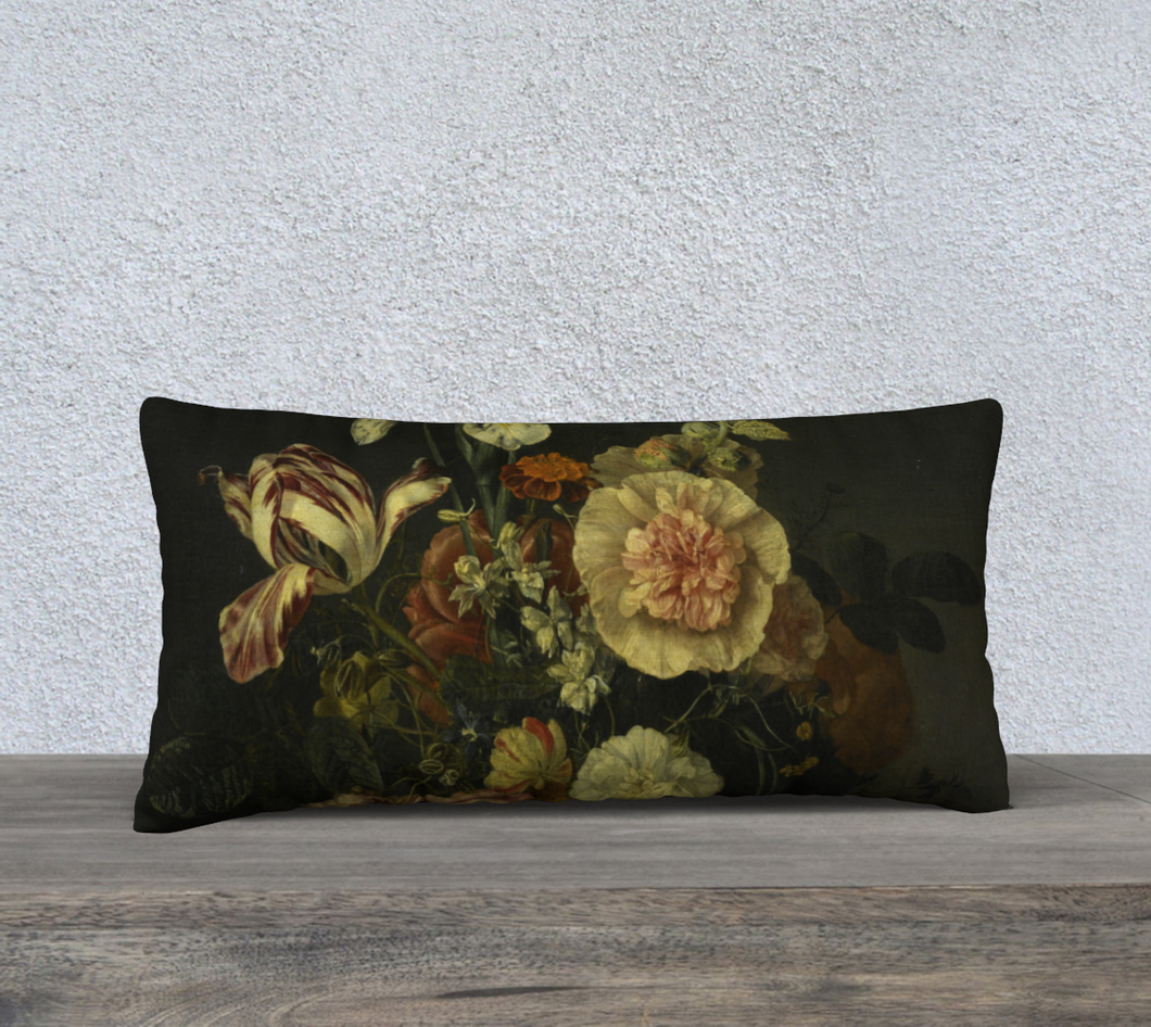 Bouquet II Pillowcase 24x12