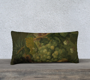 Greek Grapes Pillowcase 24x12