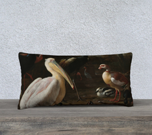 Load image into Gallery viewer, Pelican & Ducks Pillowcase 24x12