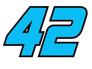 No. 42 Niece Motorsports Sticker