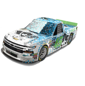 Kansas Win, Ross Chastain, TruNorth, Paul Jr. Die-cast, 1:24