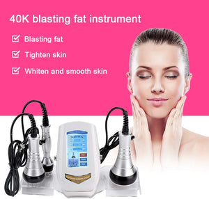 Ultrasonic 40K Cavitation Weight Loss Skin Rejuvenation Beauty Machine