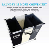 3 Section Laundry Basket