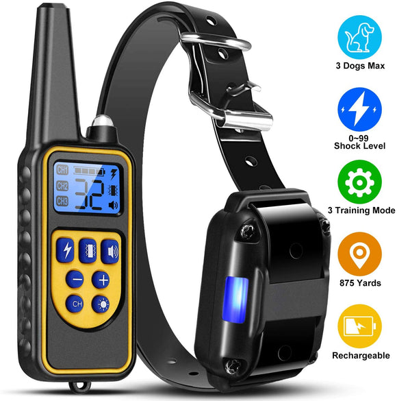 The Dog Training Shock Collar Anti Barking Anti Biting - Ships From USA