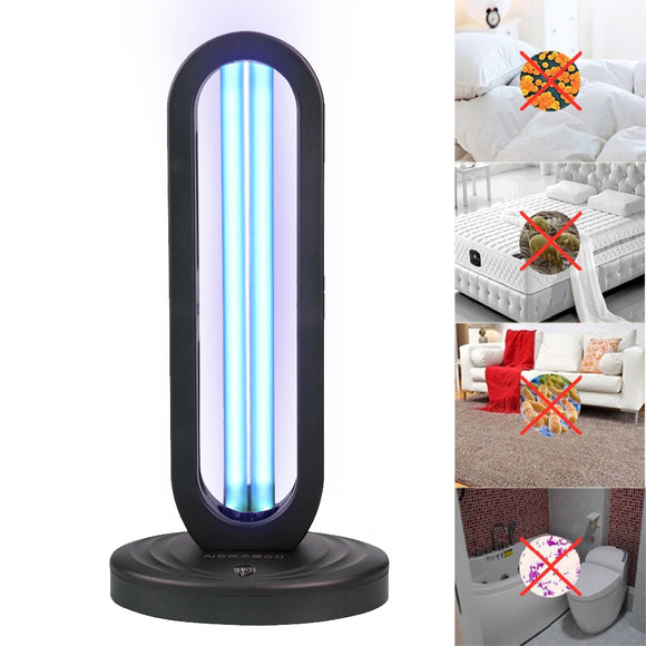 Germicidal UVC Light Lamp With Remote - Ships From USA