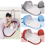 The Portable Baby Bed
