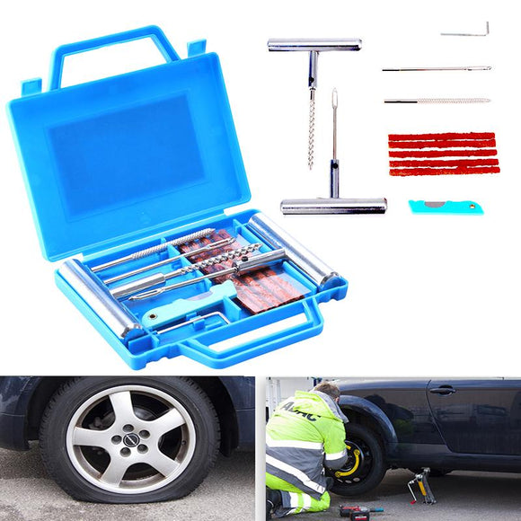 Tire Plug and Repair Tool Kit