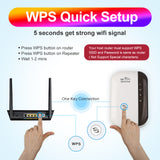 WiFi Extender 300Mbps Boost Repeater - Ships From USA