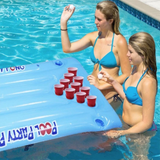 Inflatable Pool Beer Pong