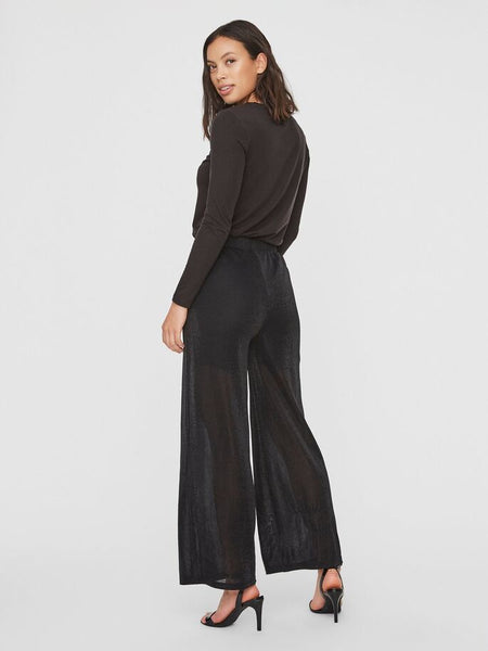 Vero Moda Denise Coco High Wasted Pants -Black