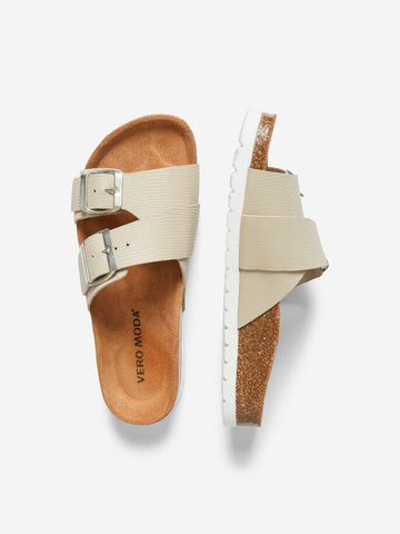 Vero Moda Milla Leather Sandals - Nomad
