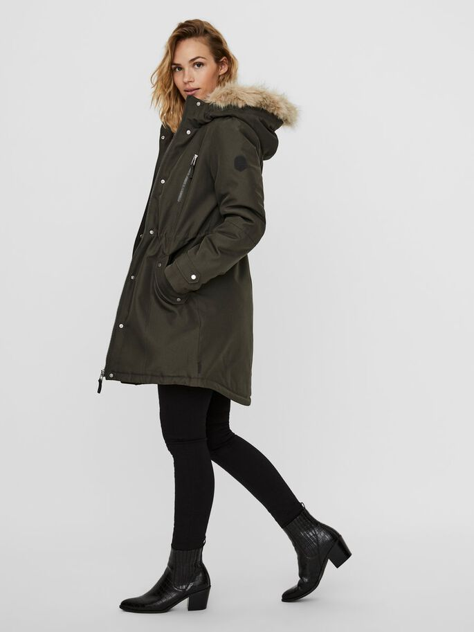 Vero Moda Expedition Coat - Peat